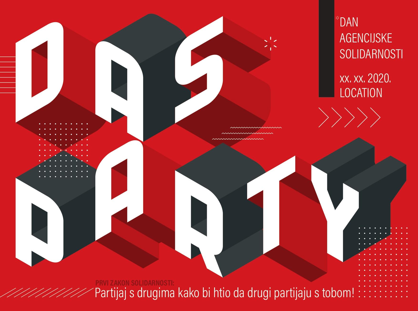 PRVI ZAKON SOLIDARNOSTI Agency: BBDO Zagreb Creative Director: Martina Pavić Designer: Iva Mandić Copywriter: Martina Pavić