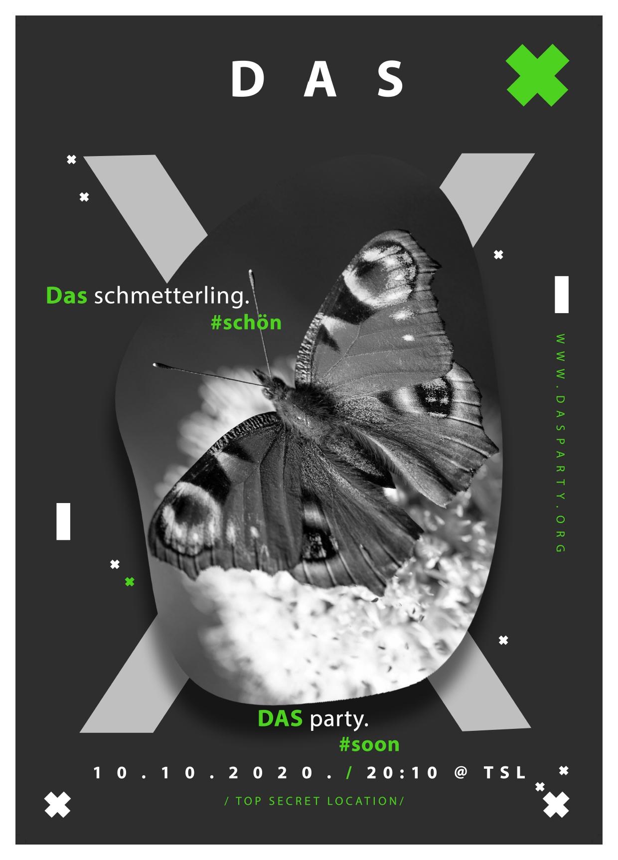 SCHMETTERLING Agency: unAgi  Creative Director: Petra Pajtak Designer: Vanja Sučević Copywriter: Petra Pajtak